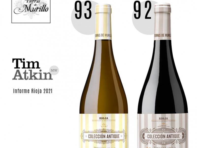 Puntuación Tim Atkin | Informe Rioja 2021
